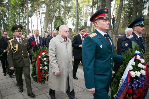 """Празднование 9 мая в Вильнюсе: """"Знаем, кто победил, порох держим сухим, борясь за мир"""""""
