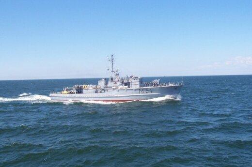 """Karinių jūrų pajėgų minų paieškos ir nukenksminimo laivas M51 """"Kuršis"""""""