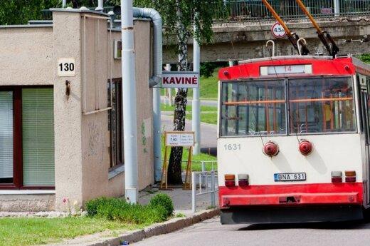 В вильнюсских троллейбусных парках – алкоголь круглосуточно