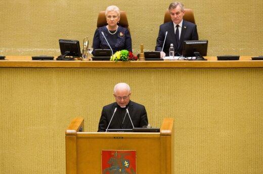 Iškilmingas Lietuvos Respublikos Seimo posėdis