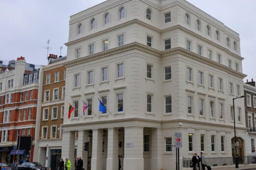 Lithuania's embassy in London. Photo by MFA