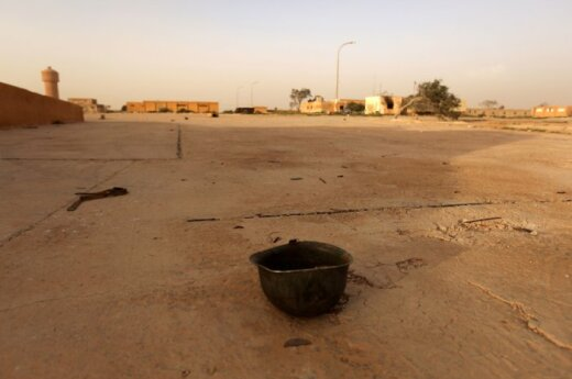 Войска Каддафи перешли в контрнаступление под Триполи