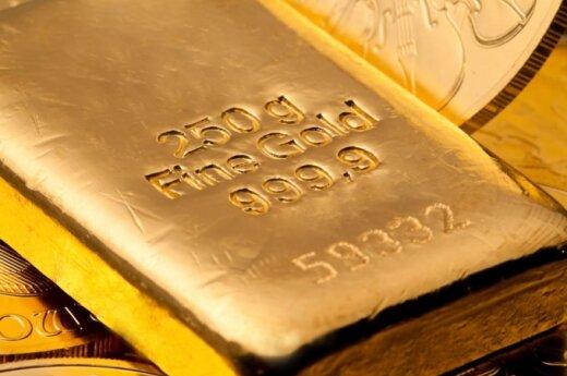 Литва по имеющимся золотым запасам занимает в мире 76 место