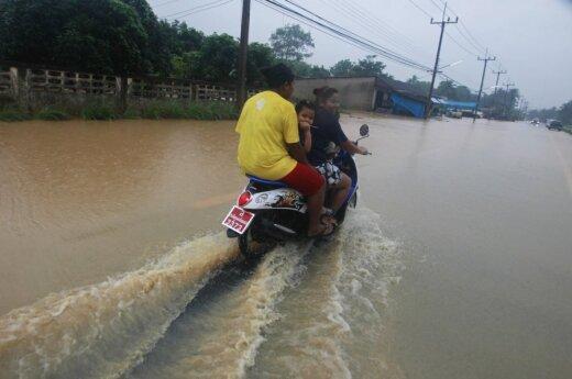 Potvyniai Tailande