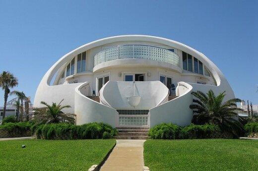 Kupolinis namas Floridoje. Nuotraukos autorius easement