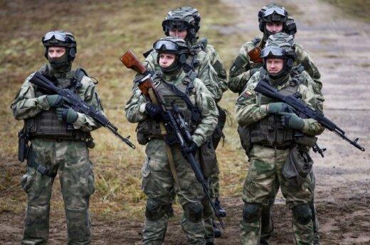 Расширяют вооруженные силы Литвы