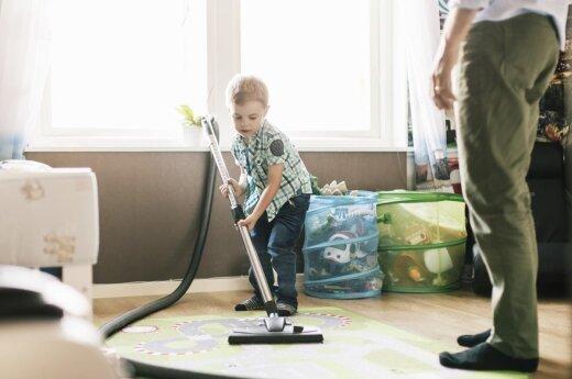 Kodėl į tvarkymąsi būtina įtraukti vaikus