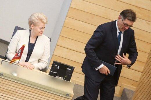 Politikai: įtampa tarp A. Butkevičiaus ir Prezidentūros auga