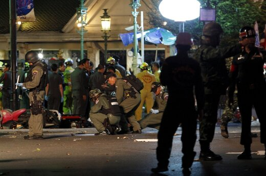 В Бангкоке произошел новый взрыв пострадавших нет