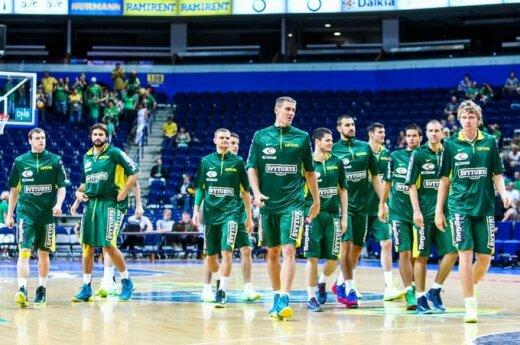 Dabartinių silpnų varžovų kaina - pralaimėjimai Europos krepšinio čempionate?