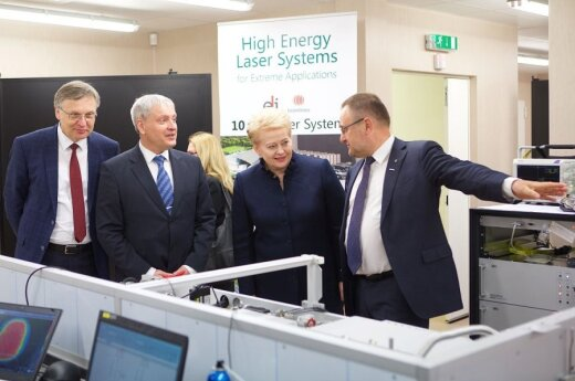 Technology and innovation centre opening in Vilnius