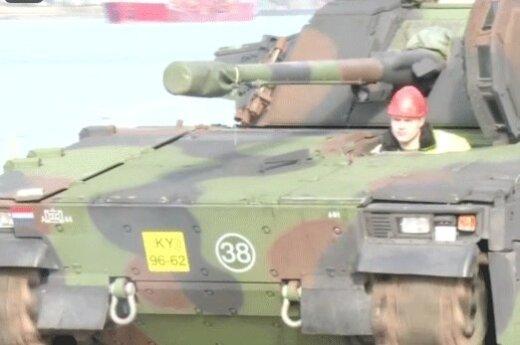 В Литву прибывает военный контингент Нидерландов