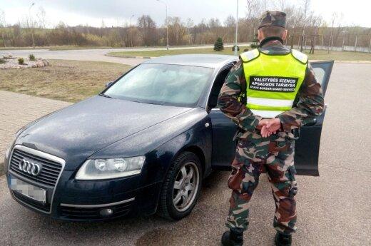 Пограничники задержали гражданина Латвии, перевозившего сирийцев