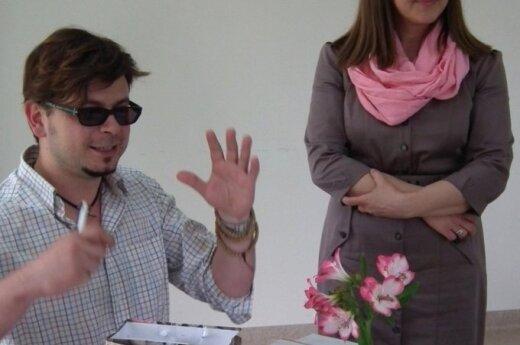Susitikimas su Domantu Razausku.