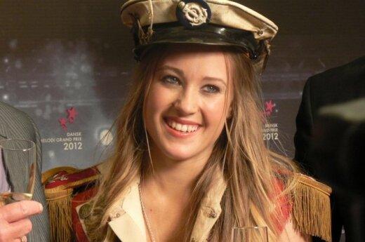 Soluna Samay atstovaus Danijai Eurovizijoje. EBU nuotr.