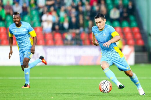 """""""Astana"""" komanda prieš """"Žalgirį"""" negali žaisti visos sudėties"""