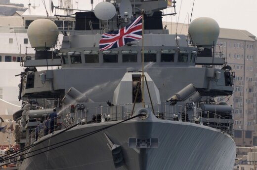 Britain sending five warships to Lithuania, Baltics to deter Russia