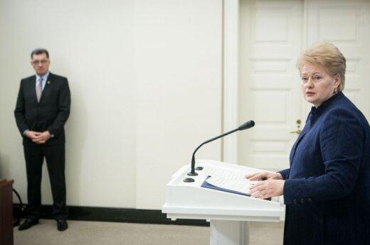 Grybauskaitė przybędzie do Sejmu