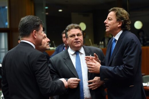 Linas Linkevičius ES ministrų susitikime
