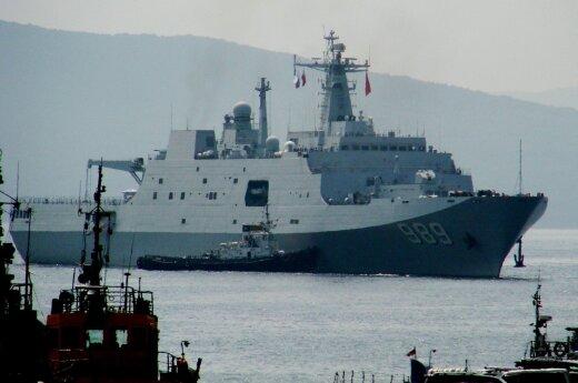 Baltijos jūroje bus rengiamos bendros Kinijos ir Rusijos karinės pratybos
