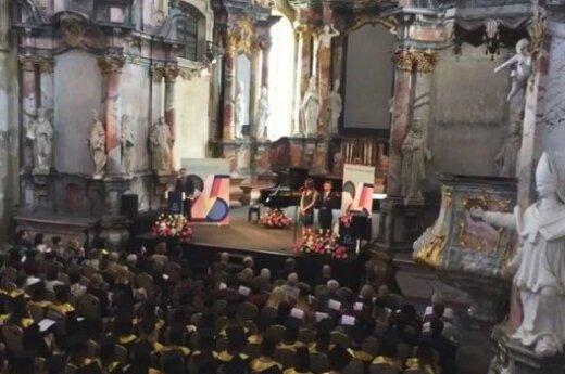 В Вильнюсе вручили дипломы выпускникам ЕГУ