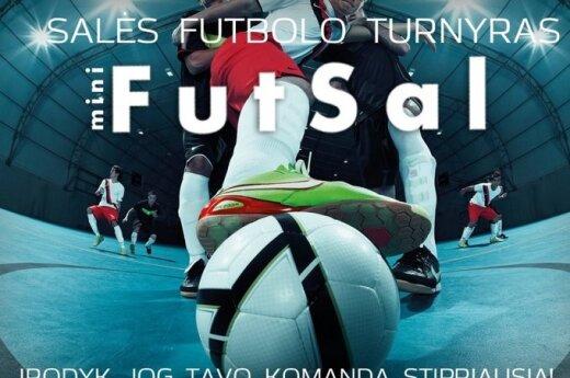 Salės futbolo turnyras miniFutsal@VDU