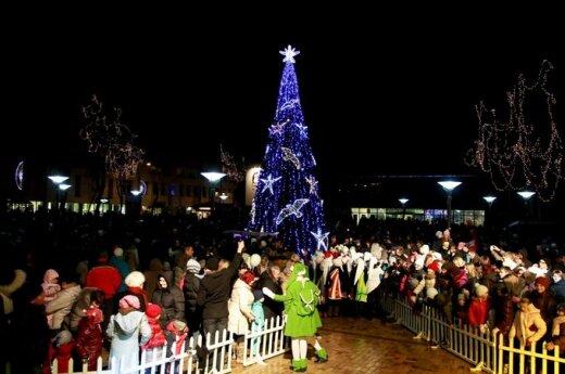 Palanga įžiebė Kalėdų eglę