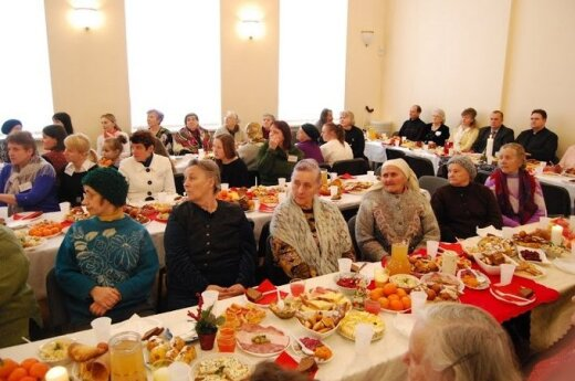 Opłatkowe spotknie Caritas w Ejszyszkach