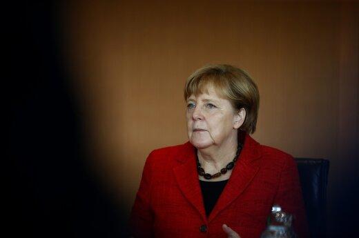 A. Merkel nemato galimybės deryboms su Turkija dėl narystės ES