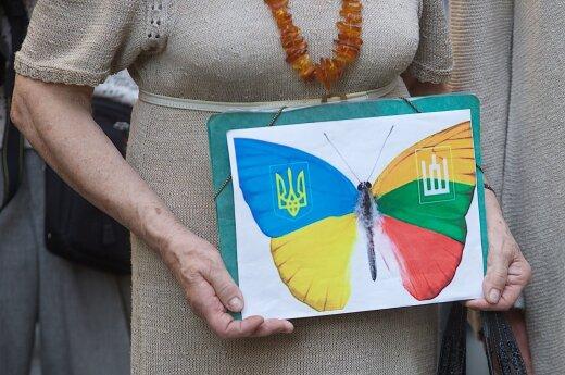 Lietuva sveikina Ukrainą