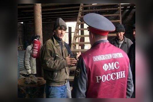 """На рынке """"Садовод"""" в Москве задержали тысячу мигрантов"""