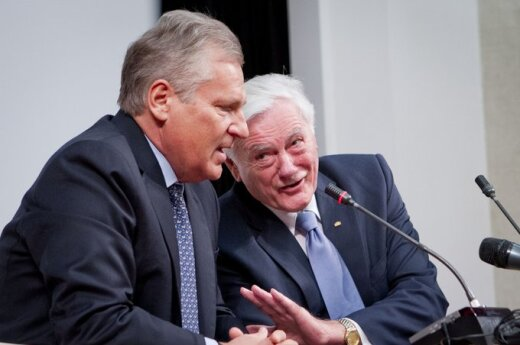 Aleksanderas Kwasniewskis ir Valdas Adamkus