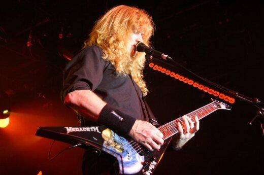 Megamocny koncert Megadeth
