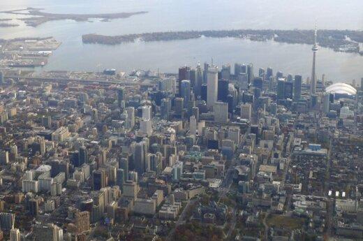 Ontarijo ežero pakrantė Toronte