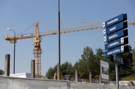 Ar gali statybos daugiabučio kieme vykti nuo 6 ryto?