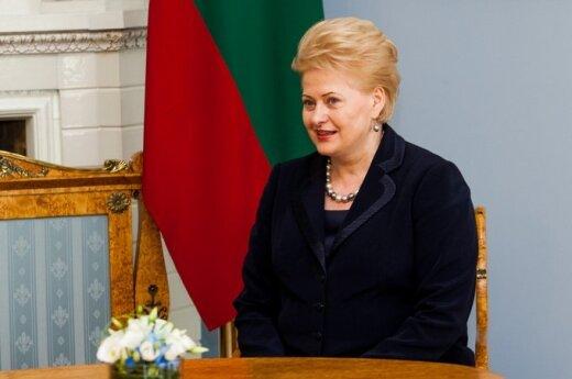 Grybauskaitė zaproszono na szczyt w Hadze