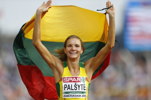 Silver medal for Airinė Palšytė in high jump at European championship