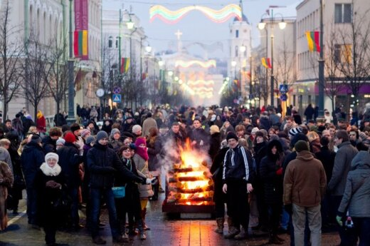 Obchody 16 lutego w Wilnie