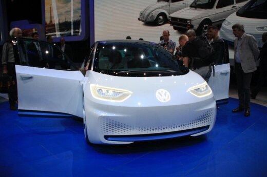 """Koncepcinis elektromobilis """"Volkswagen I.D."""""""