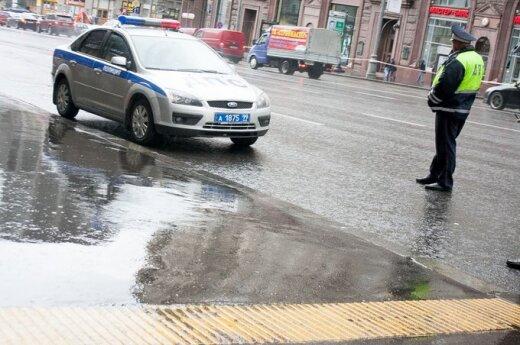 Под Москвой перевернулся автобус с 40 пассажирами