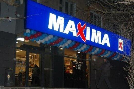Maxima parduotuvė