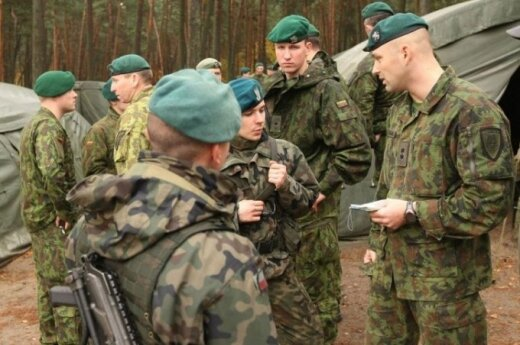 Lithuanian soldiers participate in multinational exercise Saber Junction 2014 in Germany