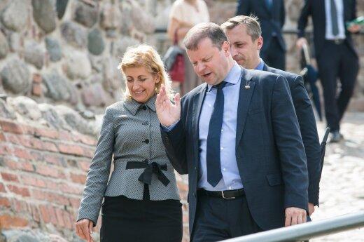 Liana Ruokytė Jonsson, Saulius Skvernelis
