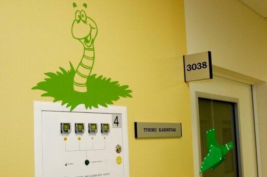 Atidarytas Kauno klinikų Vaikų ligų klinikos korpusas.
