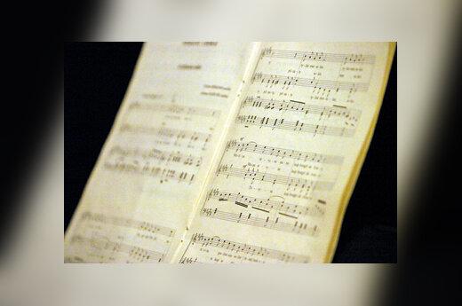 Muzika, natos