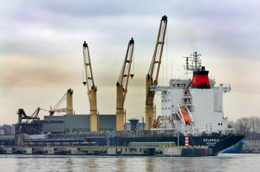 Klaipėda port resumes normal operations after storm