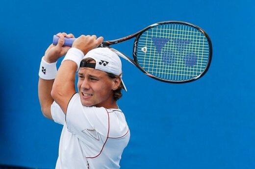 """R.Berankis įveikė """"Australian Open"""" kvalifikaciją"""