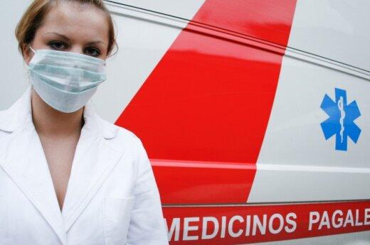 Greitosios medicinos pagalbos pertvarka skendi migloje