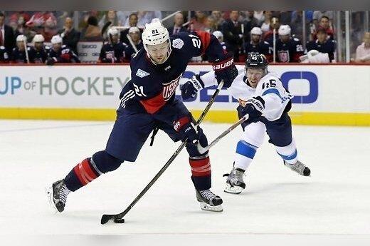 Сборная США в выставочном матче обыграла Финляндию