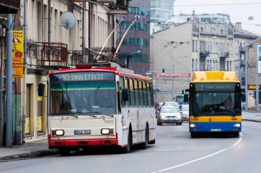 Водители общественного транспорта в Вильнюсе готовятся к забастовке